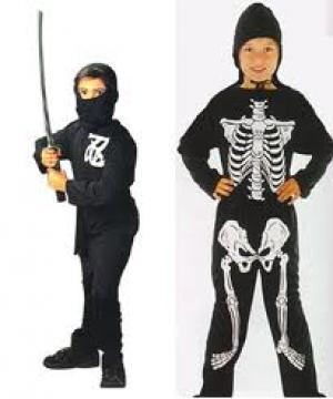Angstaanjagende aankleding