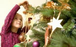 Kerstversieringen in en om huis: KinderKerstboom, Mini-kunstboom