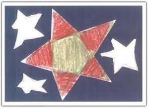 Kerstkaarten: Stofkaart, Servetkaart