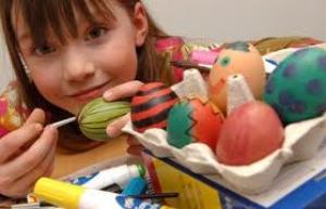 Eieren beschilderen