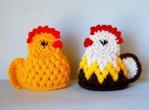 Knutsels voor de kids: eiermutsjes