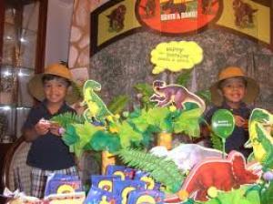 Dinosaurusfeest in de praktijk