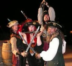 Piratenfeest in de praktijk: Erg leuk, Speurtocht, Op zoek naar de schat van Woeste Willem