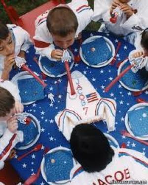 Spacefeest in de praktijk