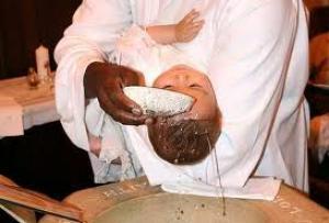 De doopceremonie