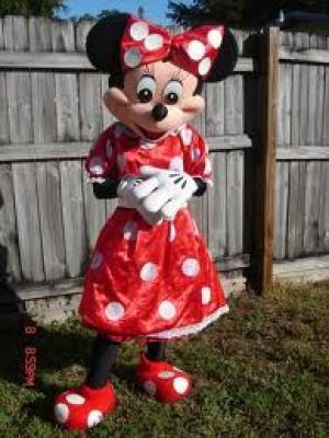 Minnie mouse feestje van Annette